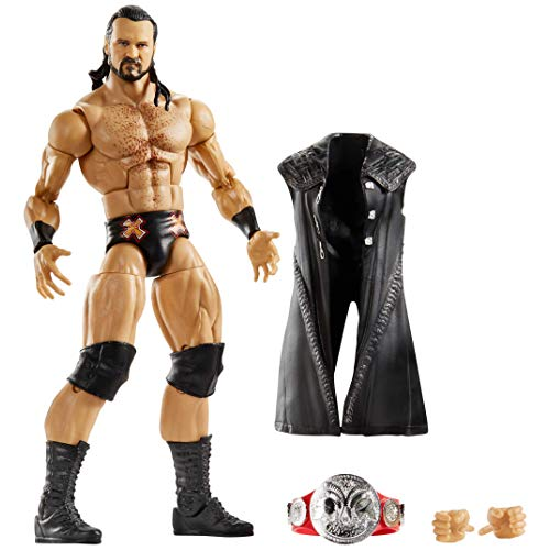 WWE Elite Collection Deluxe Action Figure with Realistic Facial Detailing Iconic Ring Gear Accessories Drew McIntyre
