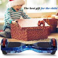 SISIGAD Hoverboard Self Balancing Scooter 65 TwoWheel Self Balancing Hoverboard with Bluetooth Speaker and LED Lights Electric Scooter for Adult Kids Gift UL 2272 Certified Fun Edition dUh-B07KSWP7LQ