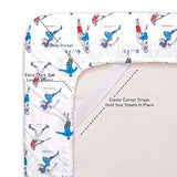 1500 Supreme Kids Bed Sheet Collection Fun Colorful and Comfortable Boys and Girls Toddler Sheet Sets Deep Pocket Wrinkle Free Hypoallergenic Soft and Cozy Bedding Twin XL Sports Lwi-B07PV3TF76