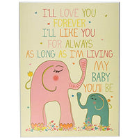 The Kids Room by Stupell Art Wall Plaque Ill Love You Forever