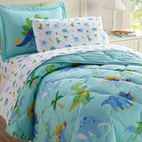 Wildkin Kids Twin Sheet Set for Boys and Girls Microfiber Bedding Set Includes Top Sheet Fitted Sheet and One Standard Pillow Case Pattern Coordinates with Our Comforters and Pillow Shams 658-B07FGP4KSK