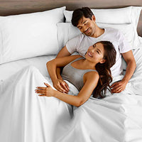 Bare Home Queen Sheet Set 1800 UltraSoft Microfiber Bed Sheets Double Brushed Breathable Bedding Hypoallergenic Wrinkle Resistant Deep Pocket Queen White ugm-B077QKLK1V