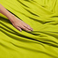 Nestl Bedding Soft Sheets Set 3 Piece Bed Sheet Set 3Line Design Pillowcase Wrinkle Free 1016 Inches Deep Pocket Fitted Sheets Warranty Included Twin XL Garden Green fbF-B07BHQ7B7G