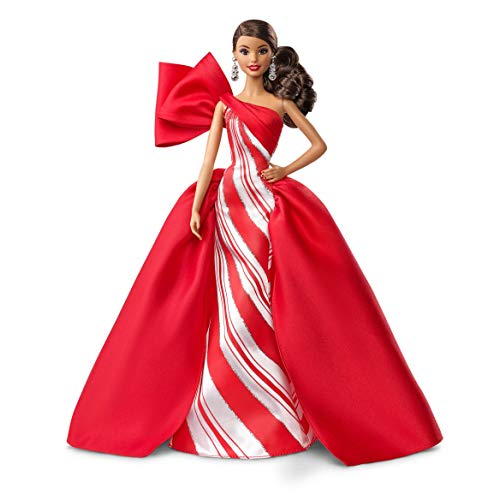 Barbie 2019 Holiday Doll Brunette lFy-B07NQG3PL9