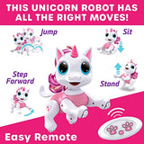 Power Your Fun Robo Pets Unicorn Toy Robot Pet Remote Control Robot Toy Smart RC Robot Unicorn Gifts for Girls jQS-B07W9G64V9