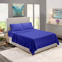 Twin Sheets Bed Sheets Twin Size Deep Pocket Hotel Sheets Cool Sheets Luxury 1800 Sheets Hotel Bedding Microfiber Sheets Soft Sheets Twin Royal Blue 8Yx-B00W2FGF64