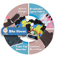 Innovative Soft Kids Knee and Elbow Pads with Bike Gloves | Toddler Protective Gear Set wMesh Bag Sticker | CSPC Certified Comfort | RollerSkating Skateboard Knee Pads for Kids Child Boys Girls KXy-B07GQM177T