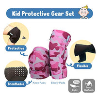 Innovative Soft Kids Knee and Elbow Pads with Bike Gloves | Toddler Protective Gear Set wMesh Bag Sticker | CSPC Certified Comfort | RollerSkating Skateboard Knee Pads for Kids Child Boys Girls VP6-B07JC9KTJP
