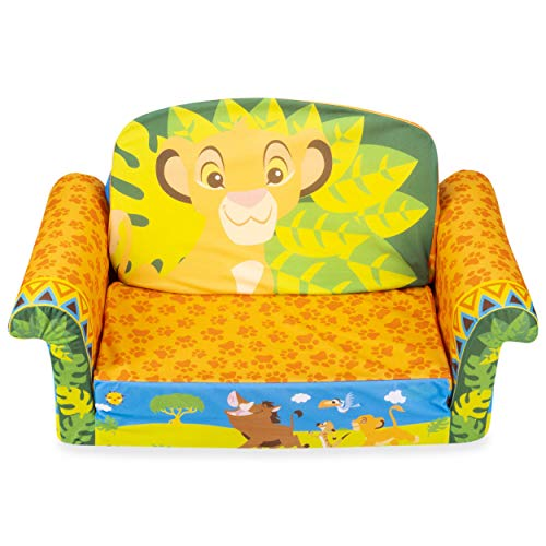 Marshmallow Furniture Childrens 2in1 Flip Open Foam Sofa Disneys The Lion King by Spin Master YlV-B07H9NDPG7