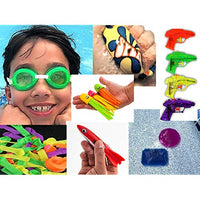 JARU Pool Toys 70 Pcs Bundle Kids Swimming Water Pool Party Goggles Splashers Balloons Filter Collectable Bouncy Ball Items 17987764348584x1170 TAc-B07SVH2CRG