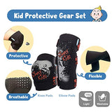 Innovative Soft Kids Knee and Elbow Pads with Bike Gloves | Toddler Protective Gear Set wMesh Bag Sticker | CSPC Certified Comfort | RollerSkating Skateboard Knee Pads for Kids Child Boys Girls Kpn-B07CMVZNTZ