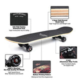 WiiSHAM Skateboards Pro 31 inches Complete Skateboards for Teens Beginners GirlsBoysKidsAdults SFW-B07GFKBCM8