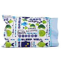Personalize your SMALL BUT STRONG Pillowcase Get Well Gifts for kids Perfect for My First Pillowcase Sleepovers Christian gifts for kids uR5-B01MS4H1WS