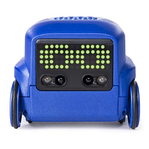 Boxer Interactive AI Robot Toy Blue with Personality and Emotions for Ages 6 and Up