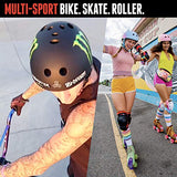Triple Eight THE Certified Sweatsaver Helmet for Skateboarding BMX and Roller Skating 2Sl-B07YQJF375