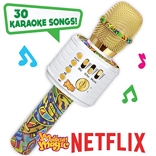 Motown Magic Bluetooth Karaoke Microphone Perfect Christmas Gifts for Kids Toy for 4 5 6 7 8 year old Girls and Boys Mip-B07TTKGZC3
