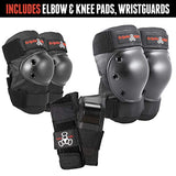 Triple Eight Saver Series Pad Set with Kneesavers Elbowsavers and Wristsavers flQ-B002WTT2J2