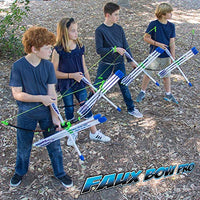 Marky Sparky Faux Bow Pro Shoots Over 200 Feet Bow and Patented Arrow Archery Set