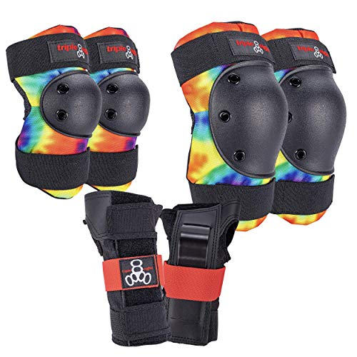 Triple Eight Saver Series Pad Set with Kneesavers Elbowsavers and Wristsavers drX-B07YQJ7JTX