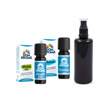 Insetti Via 10ml + Multiuso 10ml + Flacone 100ml