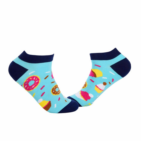 Food Ankle/Low Cut Socks - Donuts - Tale Of Socks