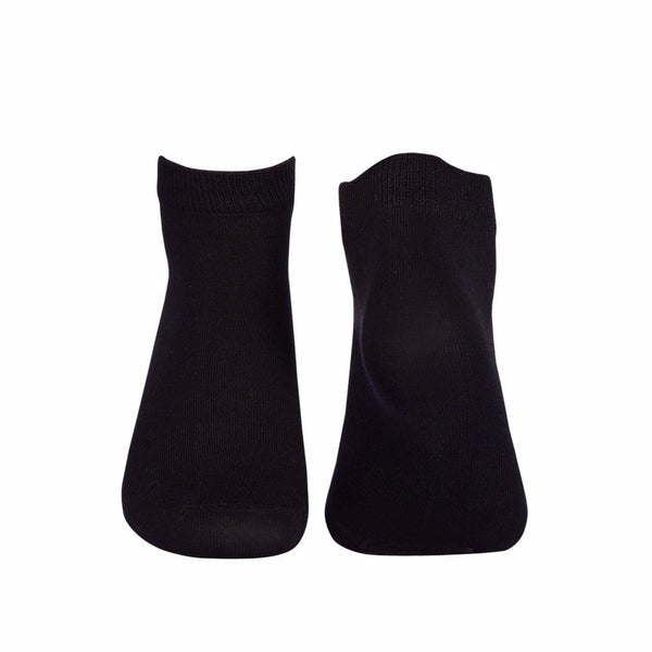 Plain Ankle/Low Cut Socks - Black - Tale Of Socks