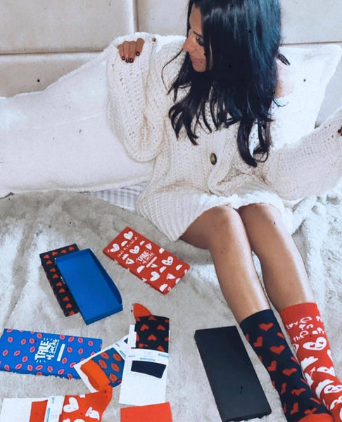 Special Edition Ankle/Low Cut Socks - Kisses - Tale Of Socks