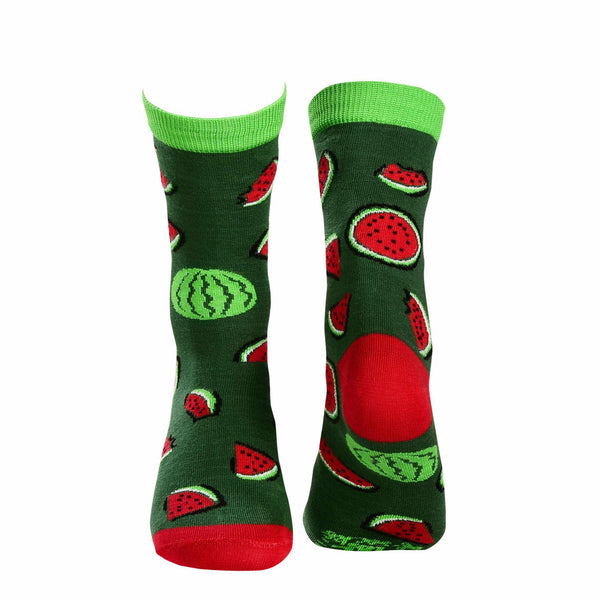 Fruit Crew Socks - Watermelon - Tale Of Socks