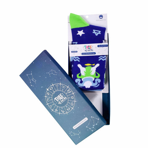 Zodiac Crew Socks - Aquarius - Tale Of Socks