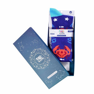 Zodiac Crew Socks - Cancer - Tale Of Socks