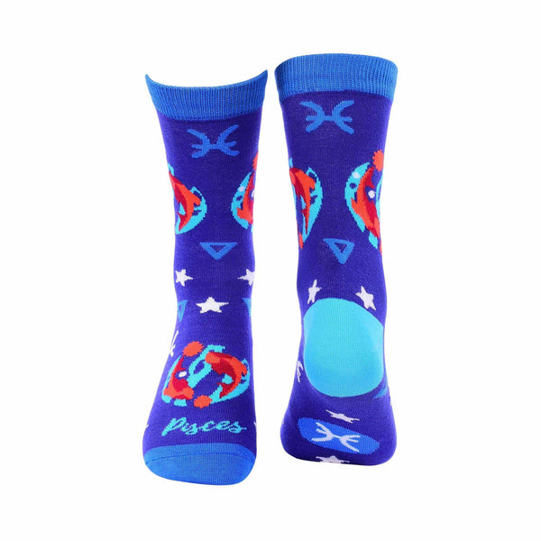 Zodiac Crew Socks - Pisces - Tale Of Socks