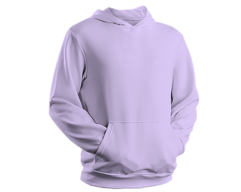Unisex Hoodie - Hooded Sweatshirt - Light Pruple - Tale Of Socks