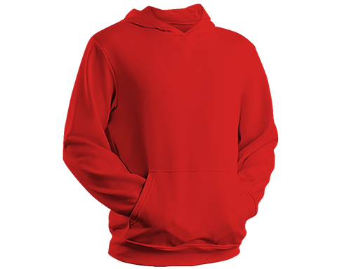 Unisex Hoodie - Hooded Sweatshirt - Red - Tale Of Socks