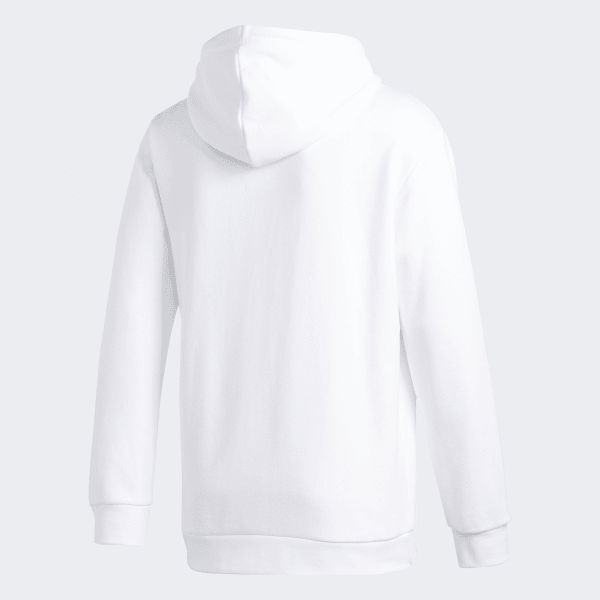 Unisex Hoodie - Hooded Sweatshirt - White - Tale Of Socks