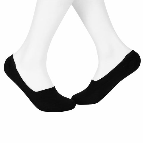 Invisible/Secret Plain Socks - Black - Tale Of Socks