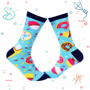 Kids Collection - Food Crew Socks - Donuts - Tale Of Socks