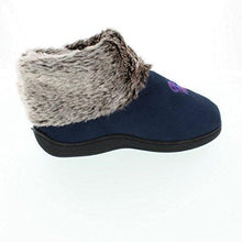 Load image into Gallery viewer, Mississippi Rebels Faux Sheepskin Furry Top Indoor/Outdoor Slippers