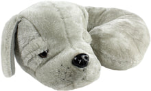 Load image into Gallery viewer, Gray Puppy Pillow Pal Neck Pillow