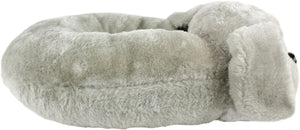 Gray Puppy Pillow Pal Neck Pillow