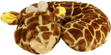 Load image into Gallery viewer, Giraffe Pillow Pal Neck Pillow