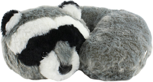 Raccoon Pillow Pal Neck Pillow