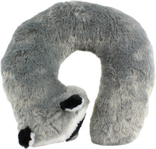 Load image into Gallery viewer, Raccoon Pillow Pal Neck Pillow