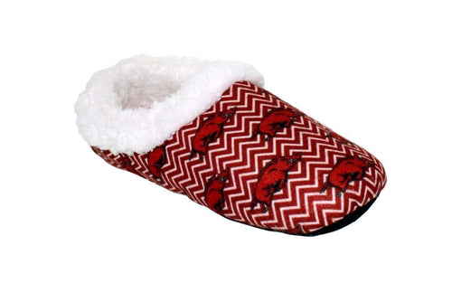 Arkansas Razorbacks Chevron Slippers
