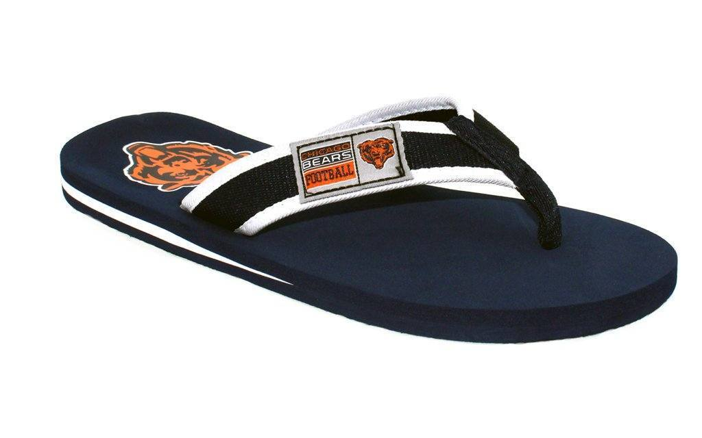 Chicago Bears Contour Flip Flop