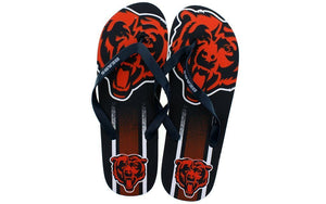 Chicago Bears Big Logo Flip Flop