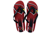 Load image into Gallery viewer, Arizona Cardinals Big Logo Flip Flop