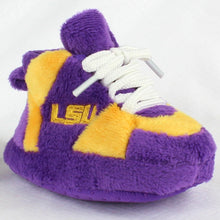 Load image into Gallery viewer, LSU Tigers Baby Slippers