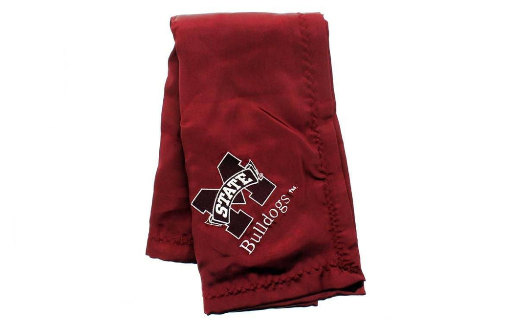 Mississippi State Bulldogs Baby Blanket