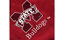 Load image into Gallery viewer, Mississippi State Bulldogs Baby Blanket
