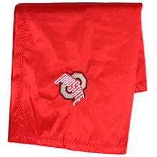 Load image into Gallery viewer, Ohio State Buckeyes Baby Blanket